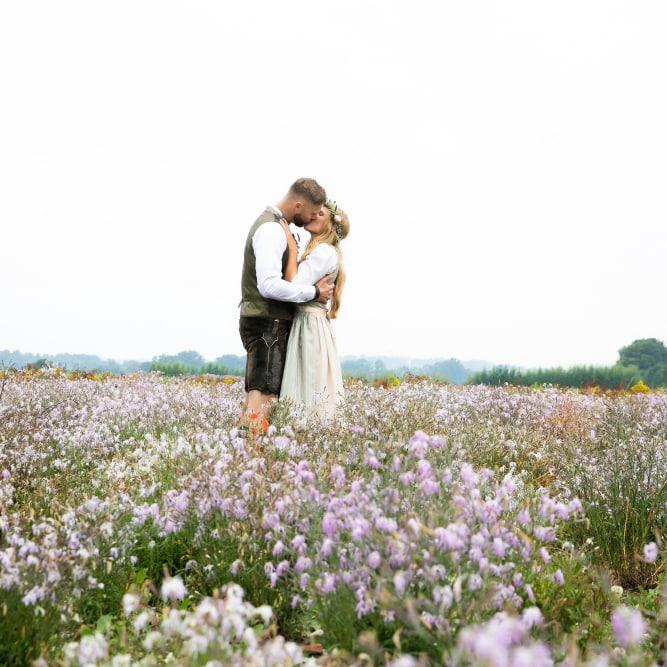 Der Hochzeitsfotograf und persönliche Momente