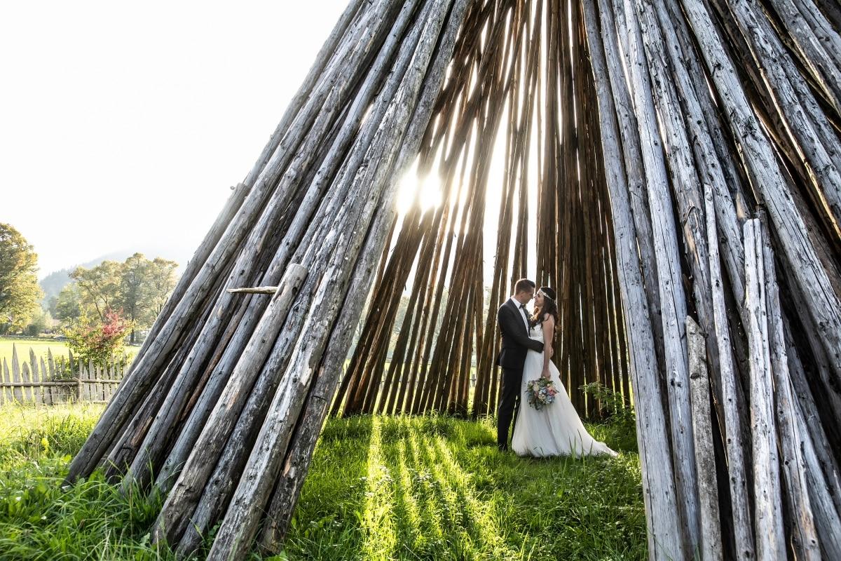 Hochzeitsfotograf Salzburg - am Schliersee mit S&J