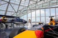 Hochzeitsfotograf Hangar 7 in Salzburg