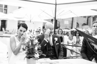 Emotionen der Hochzeit im Hotel Schloss Mönchstein*****S